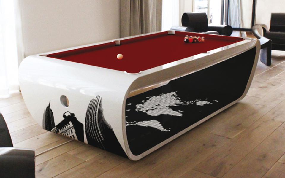 billard luxe blacklight billard toulet 100 made ine france. Black Bedroom Furniture Sets. Home Design Ideas