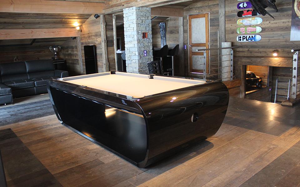 Pool Table Quot Blacklight Quot Billiards Toulet