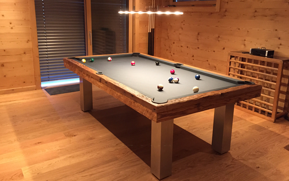 meg ve contemporary billiard table billards toulet. Black Bedroom Furniture Sets. Home Design Ideas