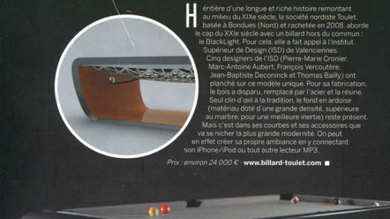 Billard Toulet-publication-dreamer