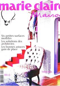 Billard Toulet-publications-Marie Claire-couv