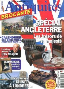 Billard Toulet-revues-Antiquites brocantes-fevrier 2008-couv