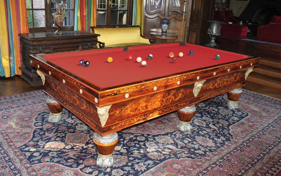 billiard table restoration billard toulet. Black Bedroom Furniture Sets. Home Design Ideas