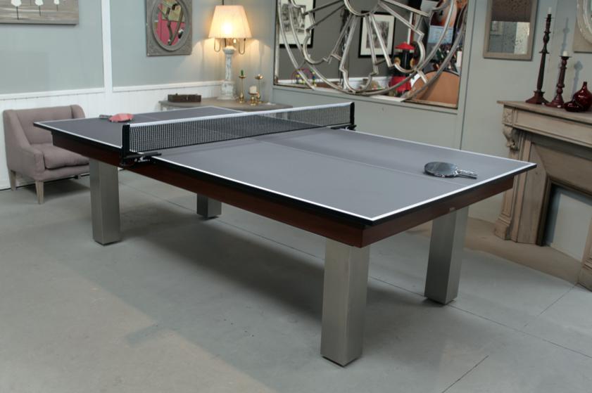 Plateau ping pong pour billard billard toulet - Billard table a manger ...