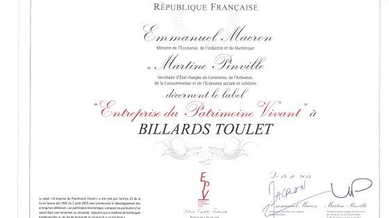 certificat-epv-billards-toulet