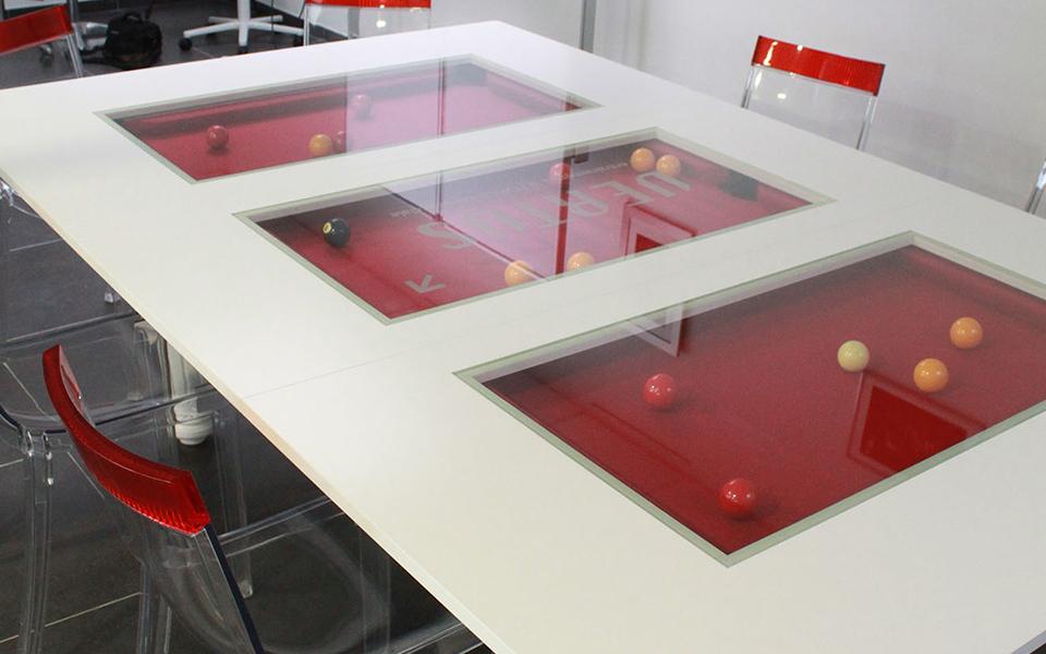 Billard table billard toulet - Table de billard moderne ...