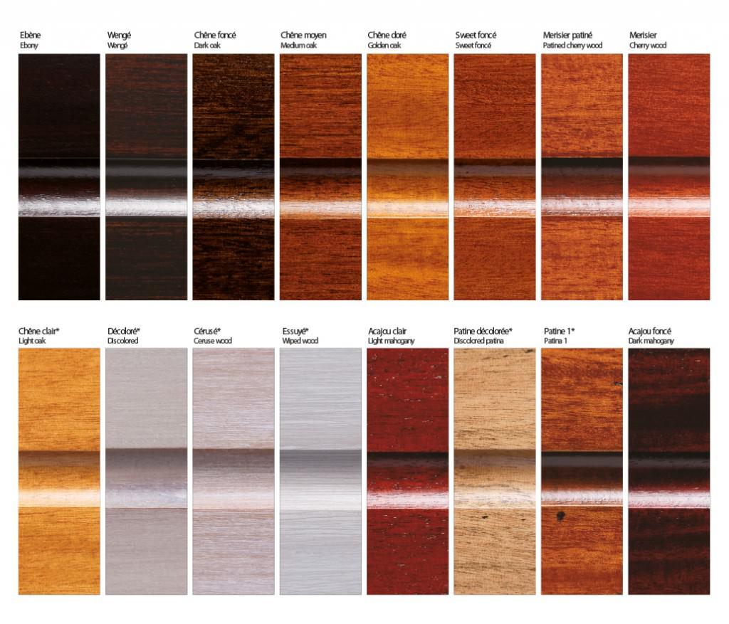 Coloris de billard  billard toulet ~ Nuancier Peinture Bois
