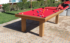 table de billard- billard contemporain