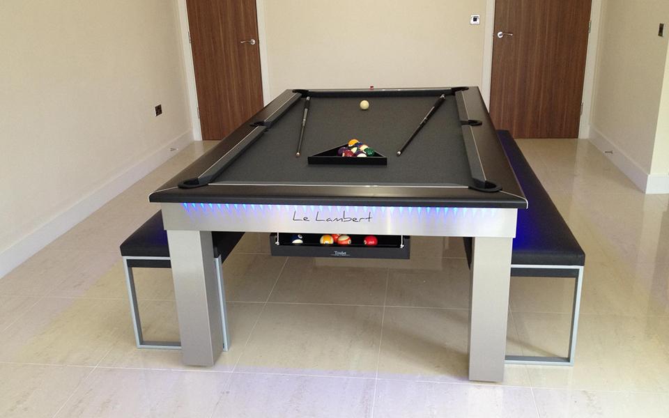 Billard table design lambert table billard toulet 100 - Table de salle a manger billard ...