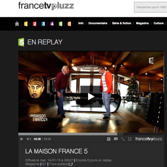 francetv pluzz la maison france 5 ventana blog. Black Bedroom Furniture Sets. Home Design Ideas