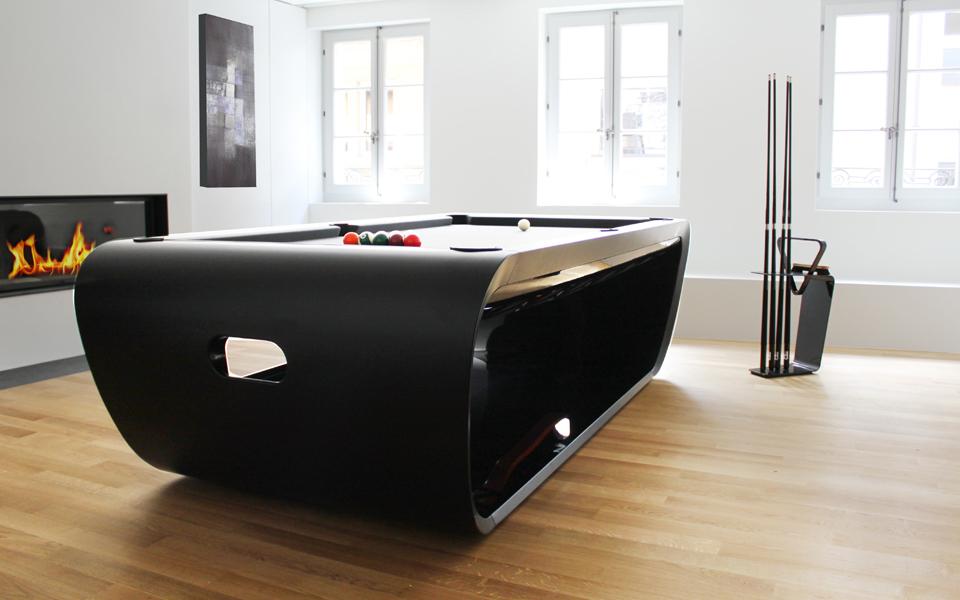 Ordinaire BlackLight. Design Billiard Tables