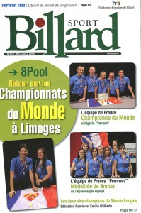 Billard Toulet-publications-billard sport-couv