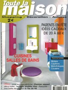 Billard Toulet-publications-toute la maison-couv