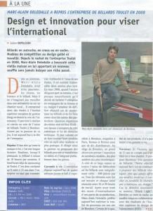 Billard Toulet-revues-La Gazette