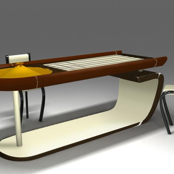projet table de roulette
