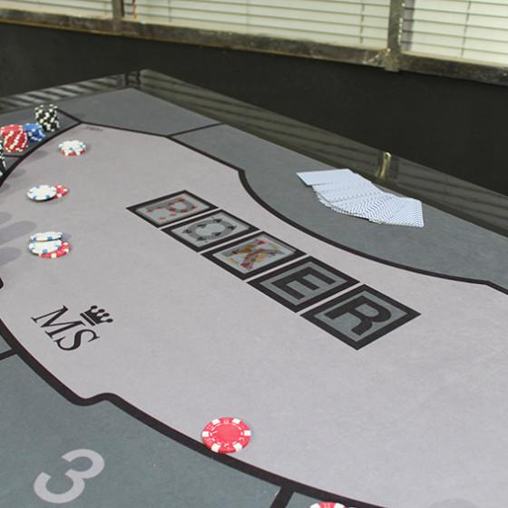 LA GAMME – table casino – version poker