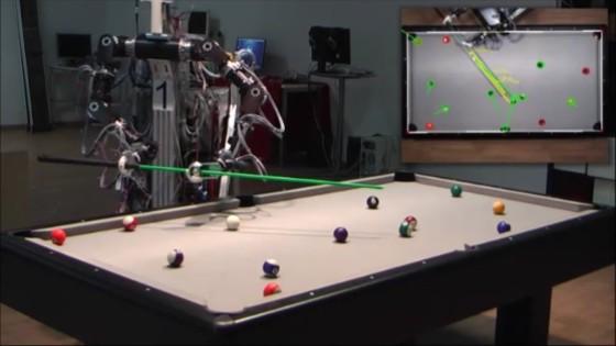 robot billard - Toulet