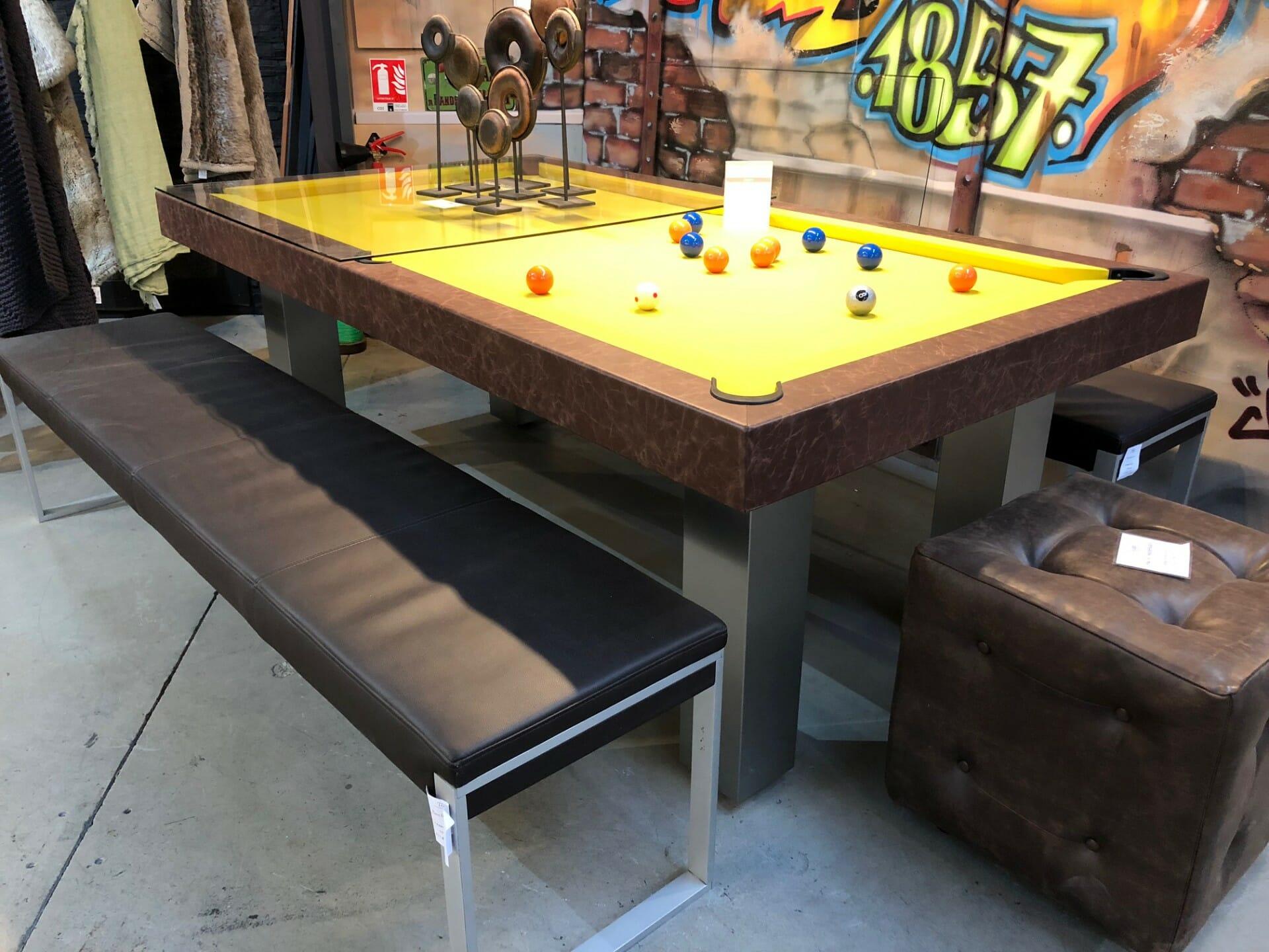 vente de billard pas cher purity leather billard toulet. Black Bedroom Furniture Sets. Home Design Ideas